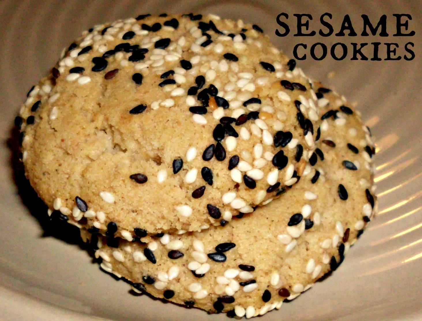 sesame cookies meh